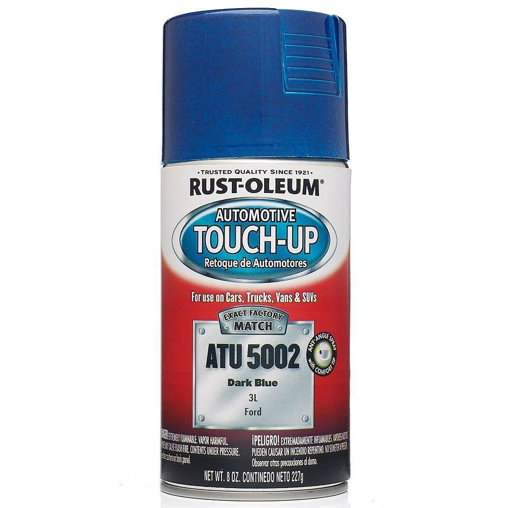 Rust-Oleum Automotive 8 oz. Dark Blue Auto Touch-Up Spray (6-Pack)