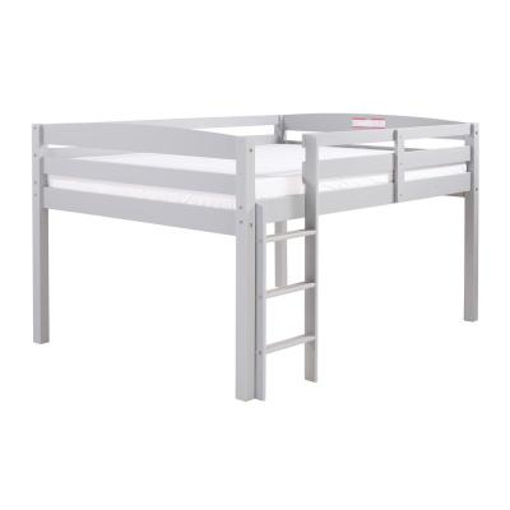 Concord Grey Twin Size Junior Loft Bed