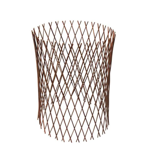 36 in. H Circular Willow Flex Fence