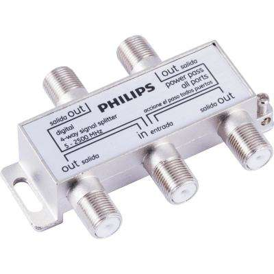 Digital Coaxial 4-way Signal Splitter