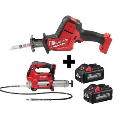 M18 FUEL 18-Volt Lithium-Ion Brushless Cordless 6-1/2 in. Circular Saw and Jig Saw with (2) 6.0Ah Batteries