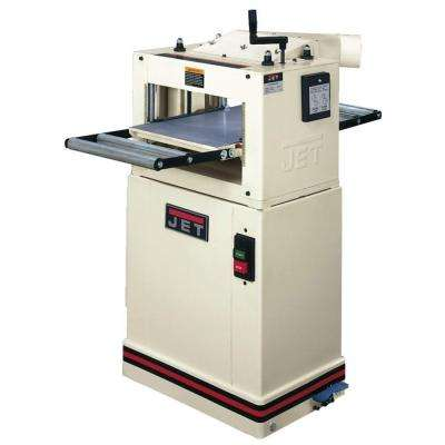115/230-Volt JPM-13CS 1.5 HP 13 in. Woodworking CS Planer and Molder Combination Machine with Closed Stand