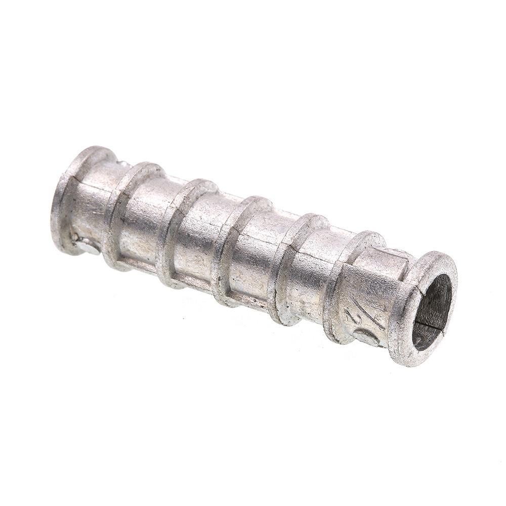 3//8 x 1 3//4 Lag Screw Expansion Shield Short Zinc Alloy Pk 25