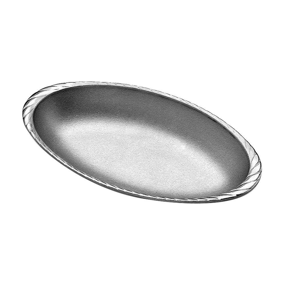 Gourmet Grillware Cast Aluminum Medium Oval Au Gratin