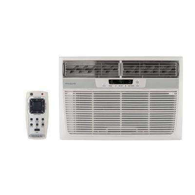 12,000 BTU 230-Volt Compact Slide-Out Chassis Window Air Conditioner with Supplemental Heat Conditioners - The Home Depot