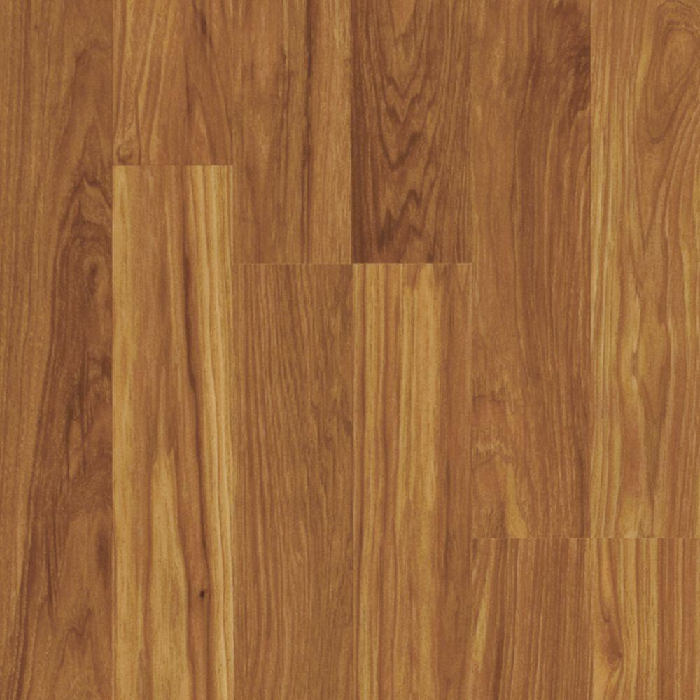Pergo xp asheville hickory 10 mm thick x 7 5 8 in wide x for Square laminate floor tiles