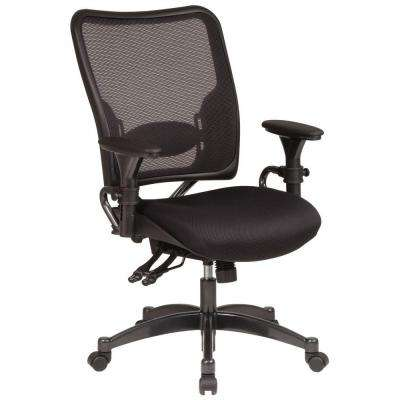 68 Series Black AirGrid Back Office Chair