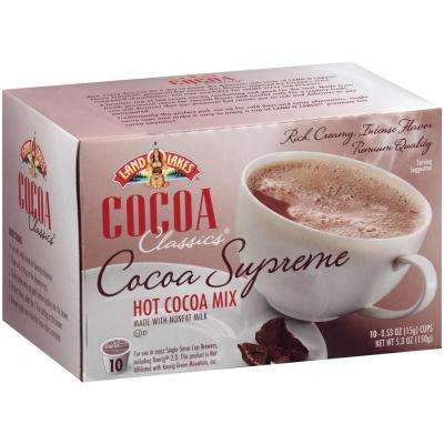 Cocoa Classics Supreme Chocolate Hot Cocoa (60 Single Serve Cups per Case)