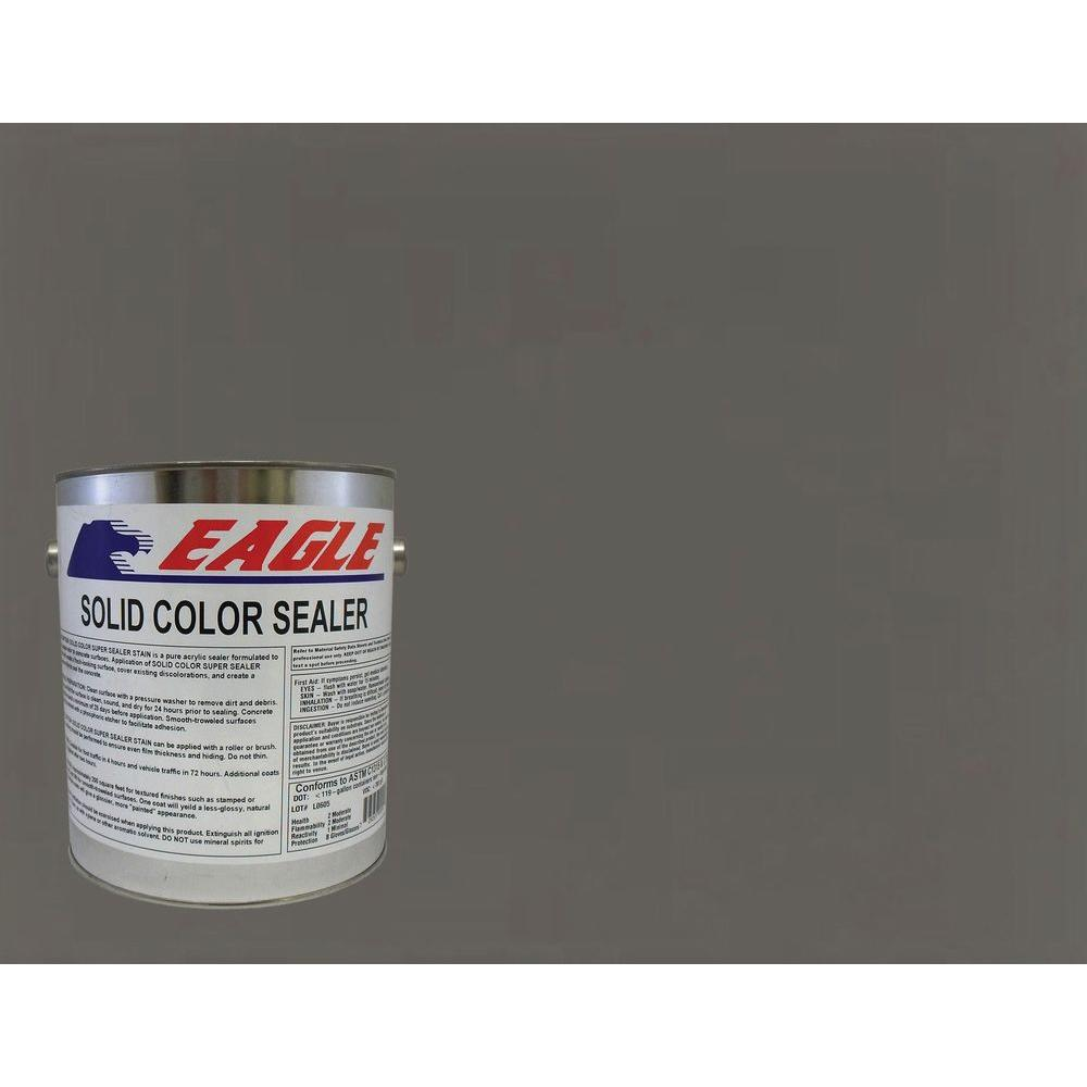 Eagle 1 gal. Muddy Gray Solid Color Solvent Based Concrete Sealer