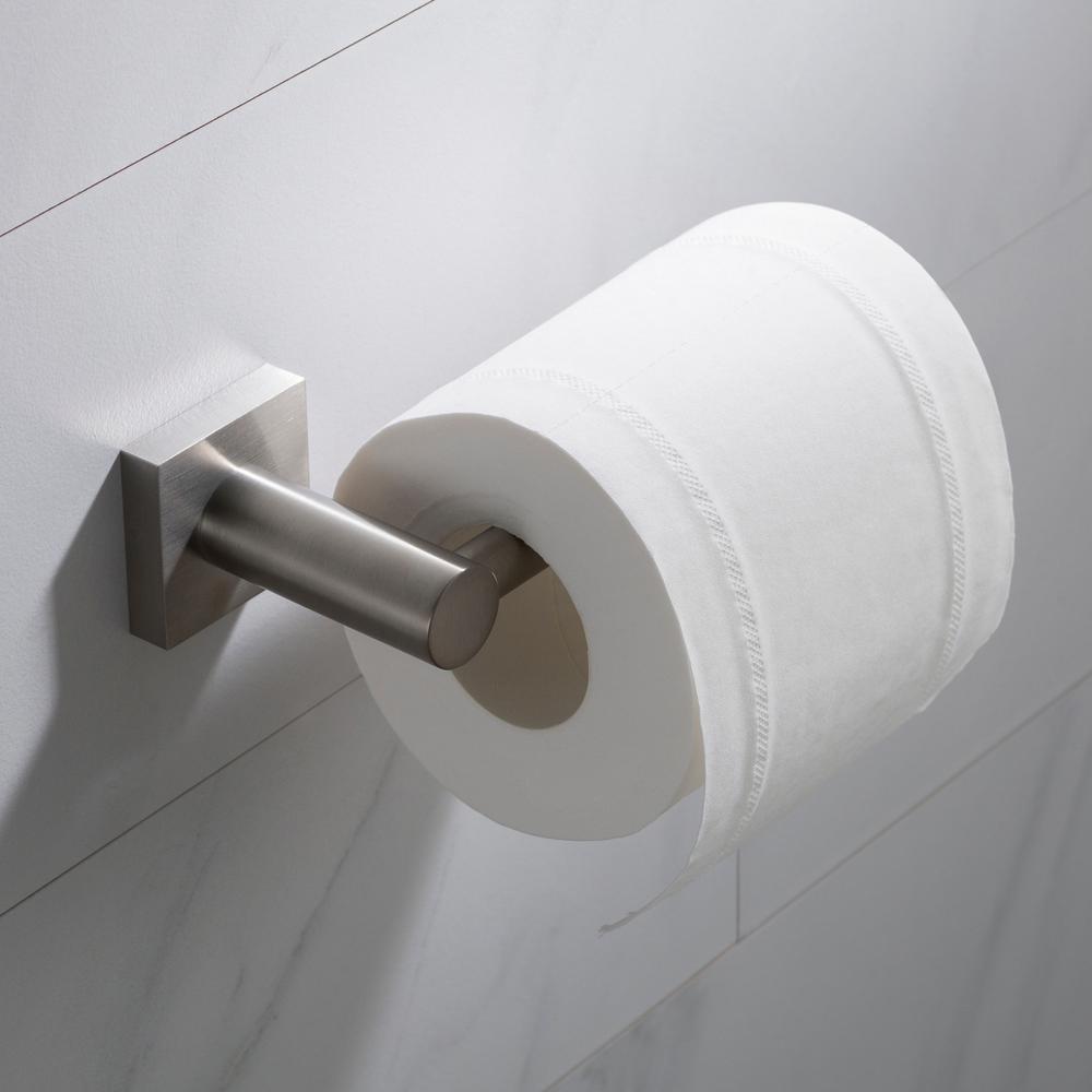 Ventus Bathroom Toilet Paper Holder in Brushed Nickel