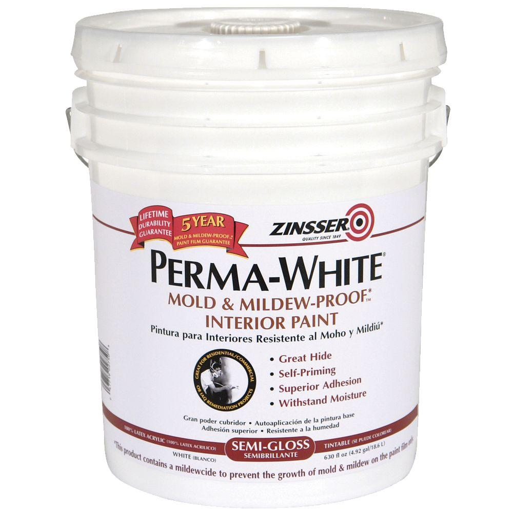 Zinsser 5-gal. Perma-White Semi Gloss Primer-DISCONTINUED