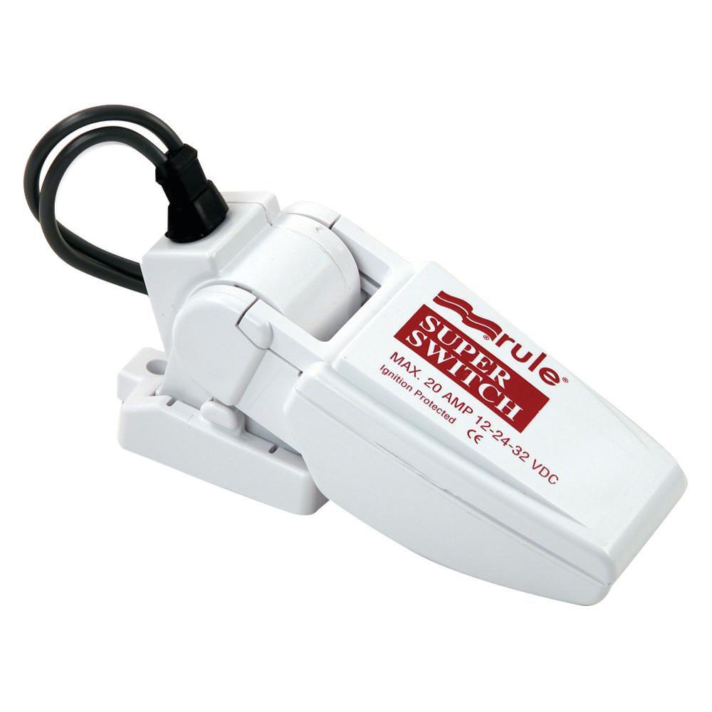 Rule Rule-A-Matic Plus Float Switch w//Fuse Holder