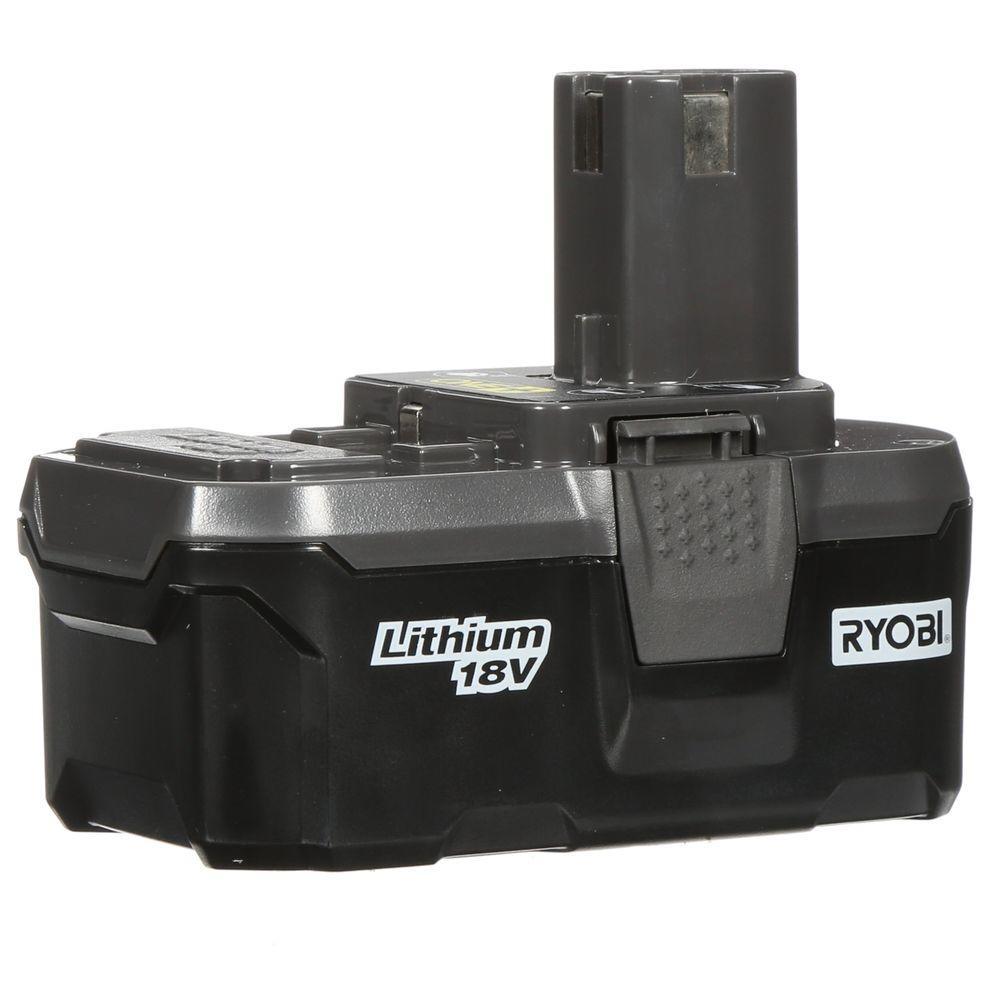 Ryobi 18-Volt ONE+ Lithium-Ion High Capacity Battery Pack 3.0Ah