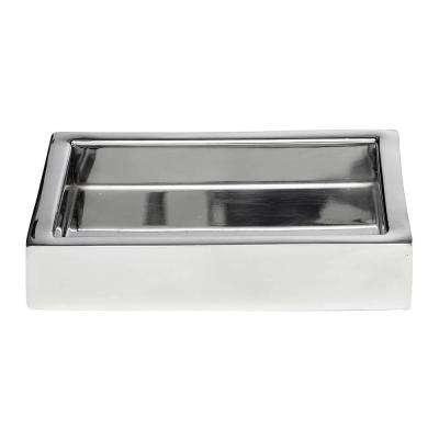5.5 in. Soap Dish in Mirror Polish