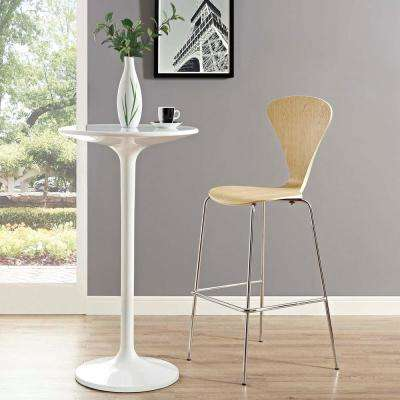 Passage 31 in. Natural Bar Stool
