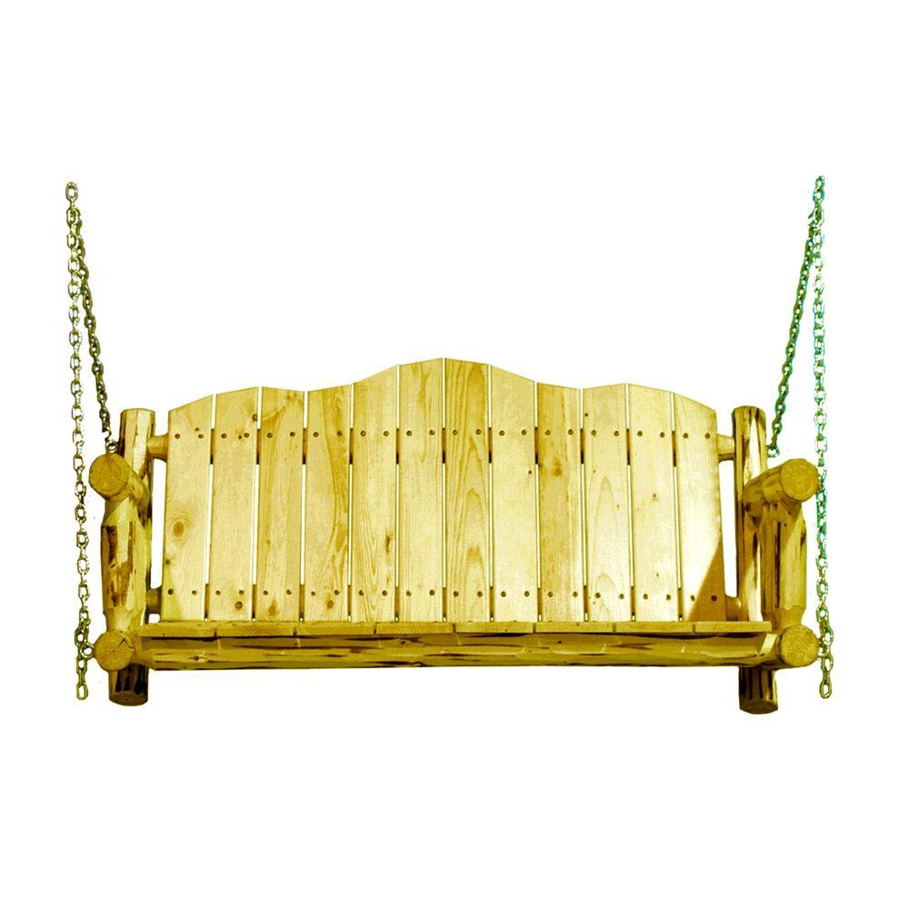 Montana Woodworks Exterior Finish Porch Swing