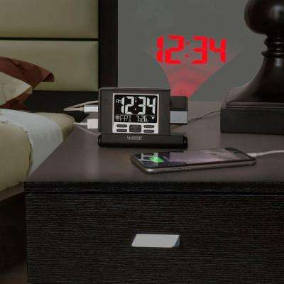 Projection 4.5 in. x 3 in. Travel Fold-up Alarm Clock