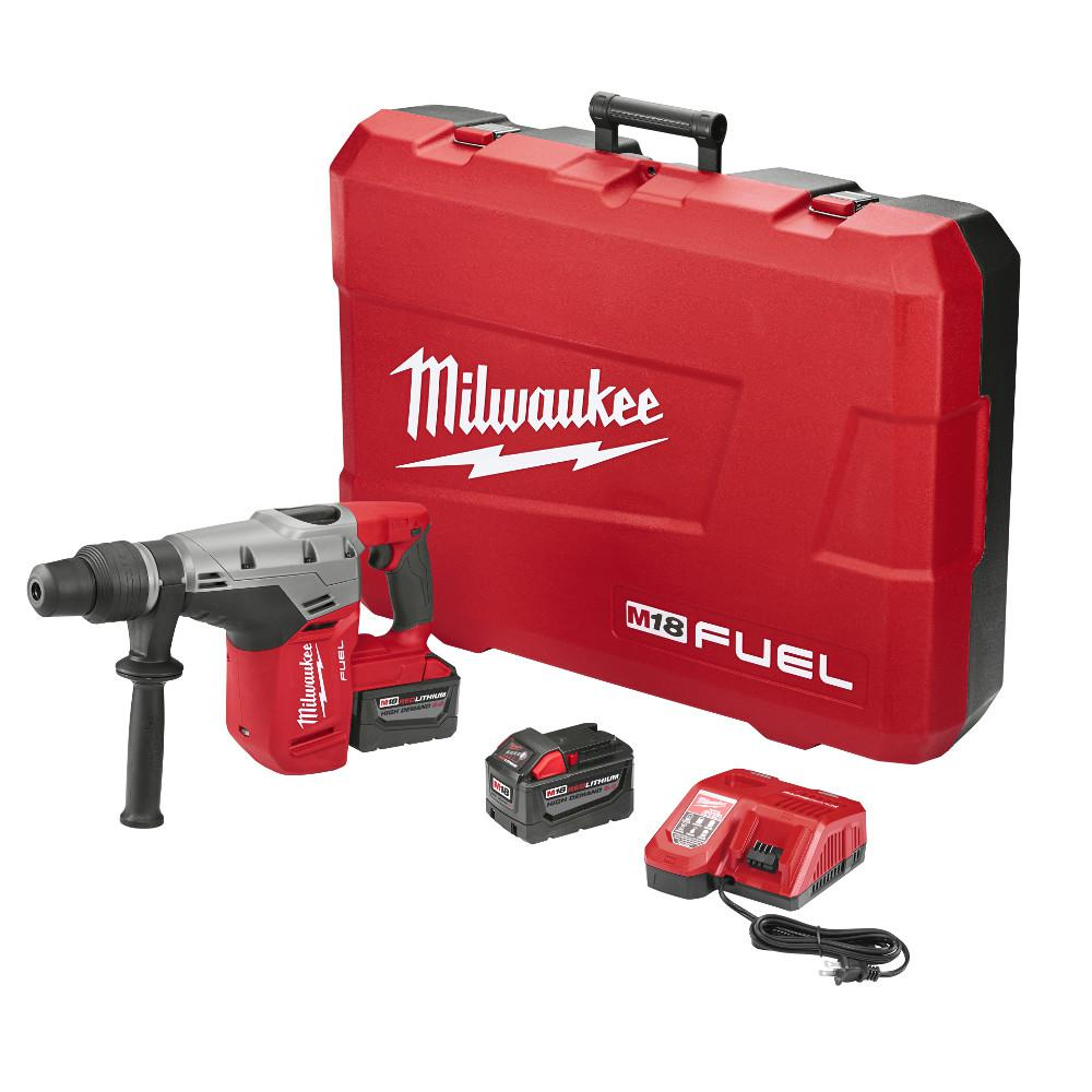Milwaukee M FUEL Volt LithiumIon Brushless Cordless In - Demolition hammer rental home depot