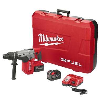 M18 FUEL 18-Volt Lithium-Ion Brushless Cordless 1-9/16 in. SDS-Max Rotary Hammer Kit W/(2) 9.0Ah Batteries & Hard Case