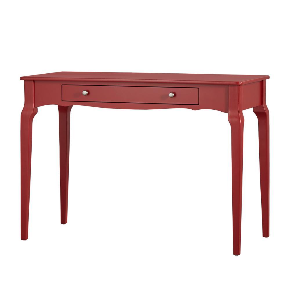 Samba Red Writing Desk