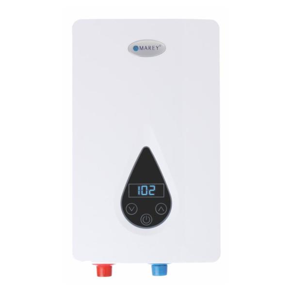 14.6 kW 3.5 GPM ETL Certified 220-Volt Self-Modulating Residential Multiple Points of Use Tankless Electric Water Heater