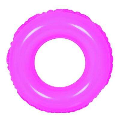 24 in. Pink Inflatable Inner Tube Float