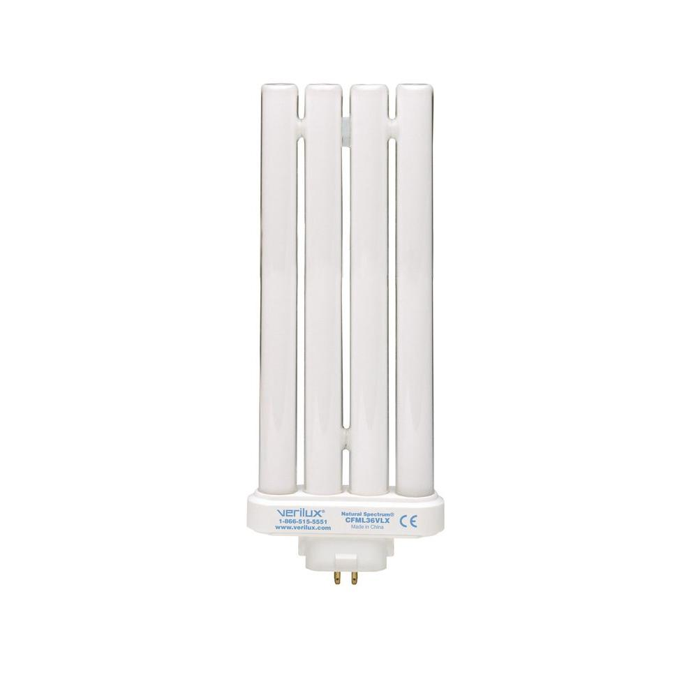 null 36-Watt Bright White HappyLight 5000LUX Replacement Linear CFL Light Bulb