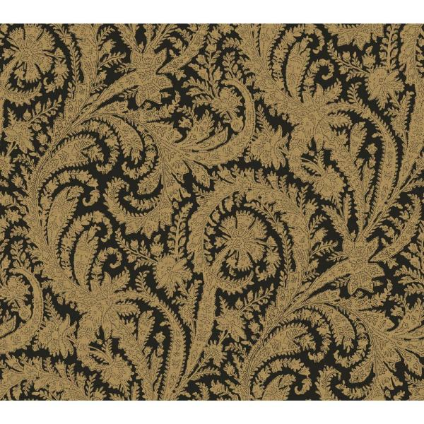 York Wallcoverings 60.75 sq. ft. Tailored Archive Paisley Wallpaper HO3309