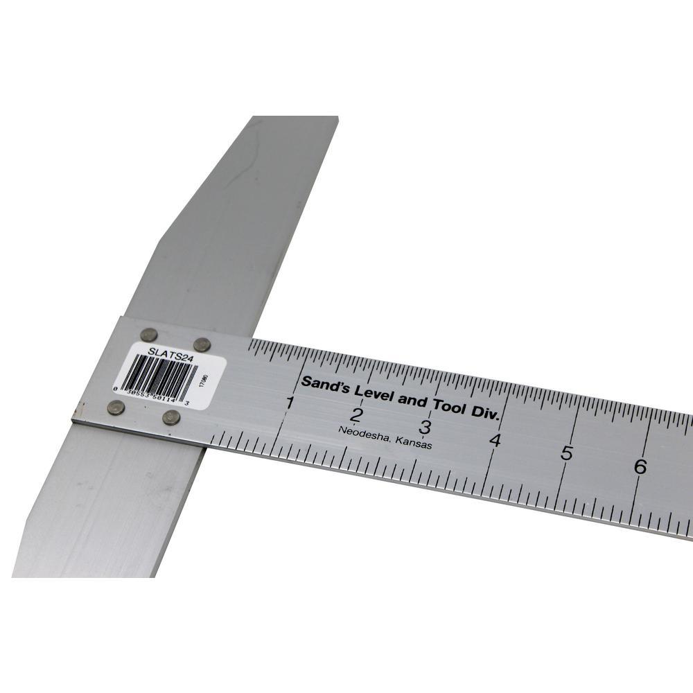 24 in. Aluminum T-Square