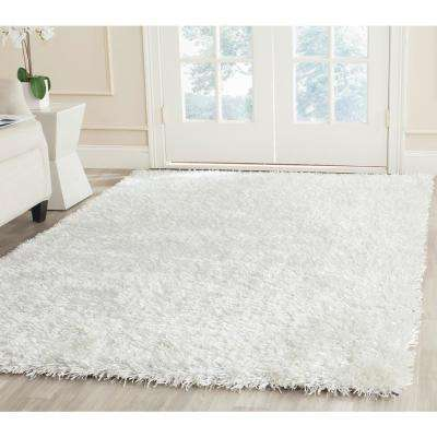 New Orleans Shag Off White 6 ft. x 9 ft. Area Rug