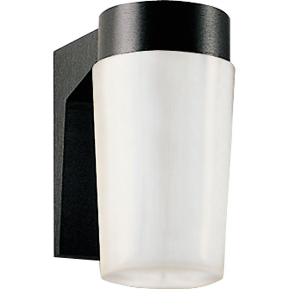 Progress Lighting Hard-Nox Collection Black 1-light Wall Lantern