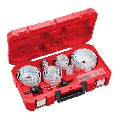 28-Piece All Purpose Professional Hole Dozer Hole Saw Kit