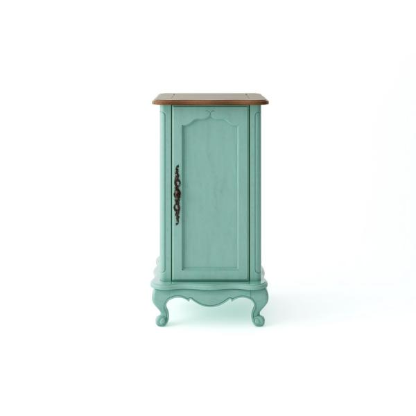 Provence 18 in. W x 16 in. D x 34 in. H Floor Cabinet in Blue