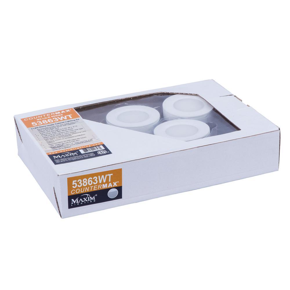 CounterMax MX-LD-R LED Puck Starter Kit