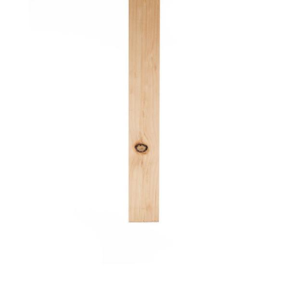 1 in. x 2 in. x 8 ft. Eastern White Pine Furring Strip Board
