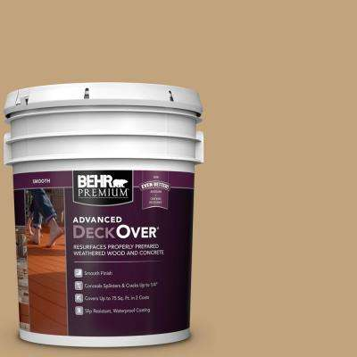 5 gal. #SC-145 Desert Sand Smooth Solid Color Exterior Wood and Concrete Coating