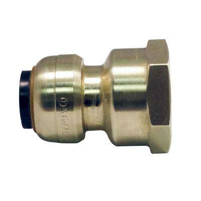 1/2 in. Brass Push-To-Connect x 3/4 in. Female Pipe Thread Reducing Adapter