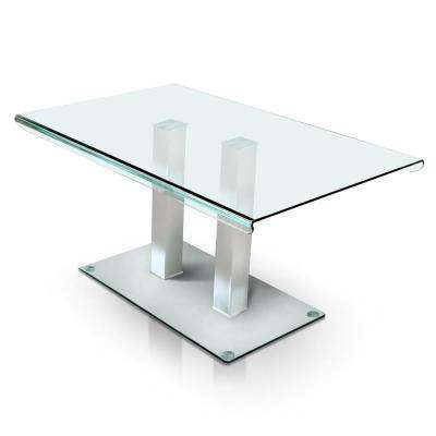 Maline Silver Dining Table