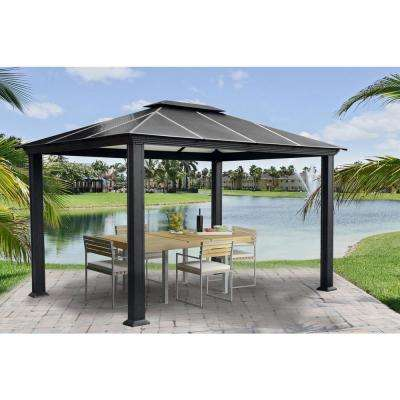 Paragon-Outdoor 11 ft. x 13 ft. Santa Monica Gazebo