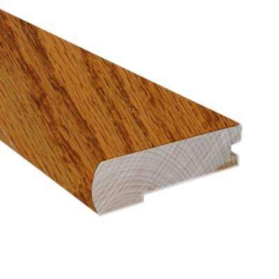 Oak Butterscotch 2-3/4 in. Wide x 78 in. Length Flush-Mount Stair Nose Molding (Use with 3/8 in. Thick Click Floors)
