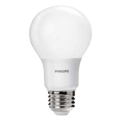 40W Equivalent Daylight Non-Dimmable A19 LED Light Bulb (4-Pack)