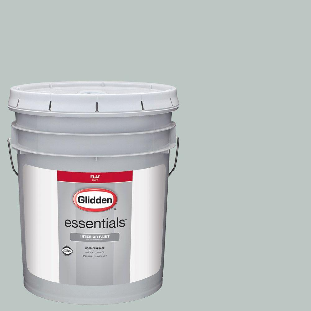 Hdgcn19 Icy Teal Flat Interior Paint