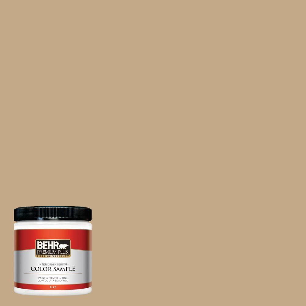 8 oz. #ICC-61 Toasted Grain Zero VOC Interior/Exterior Paint Sample