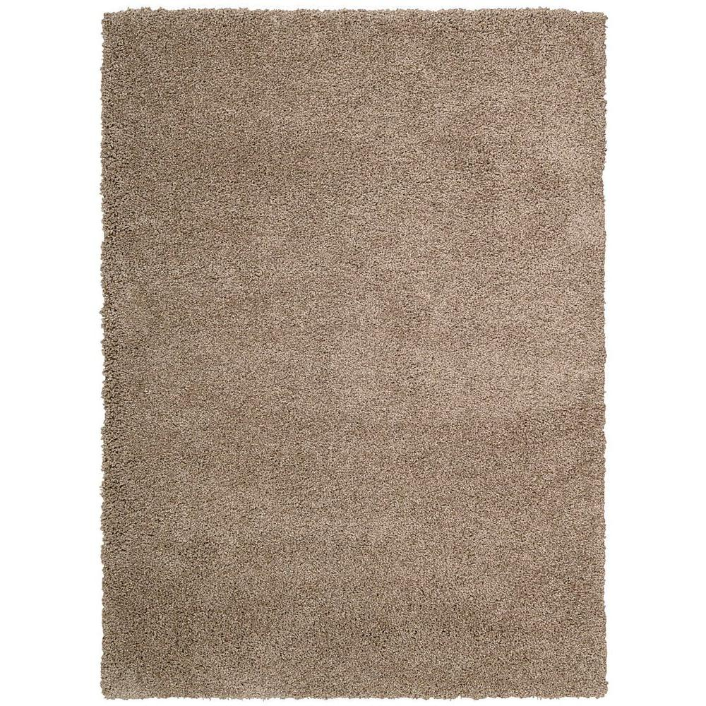 Nourison Overstock Amore Latte 3 ft. 11 in. x 5 ft. 11 in. Area Rug