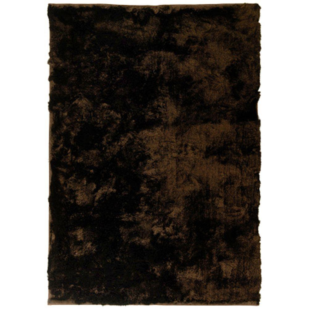 So Silky Chocolate 2 ft. x 3 ft. Area Rug