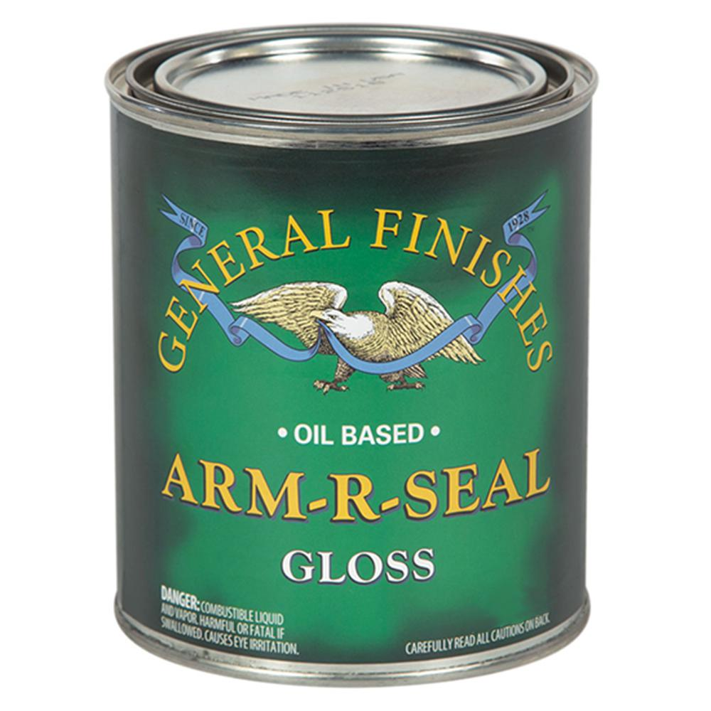 General Finishes 1 qt. Gloss Arm-R-Seal Urethane Interior Topcoat