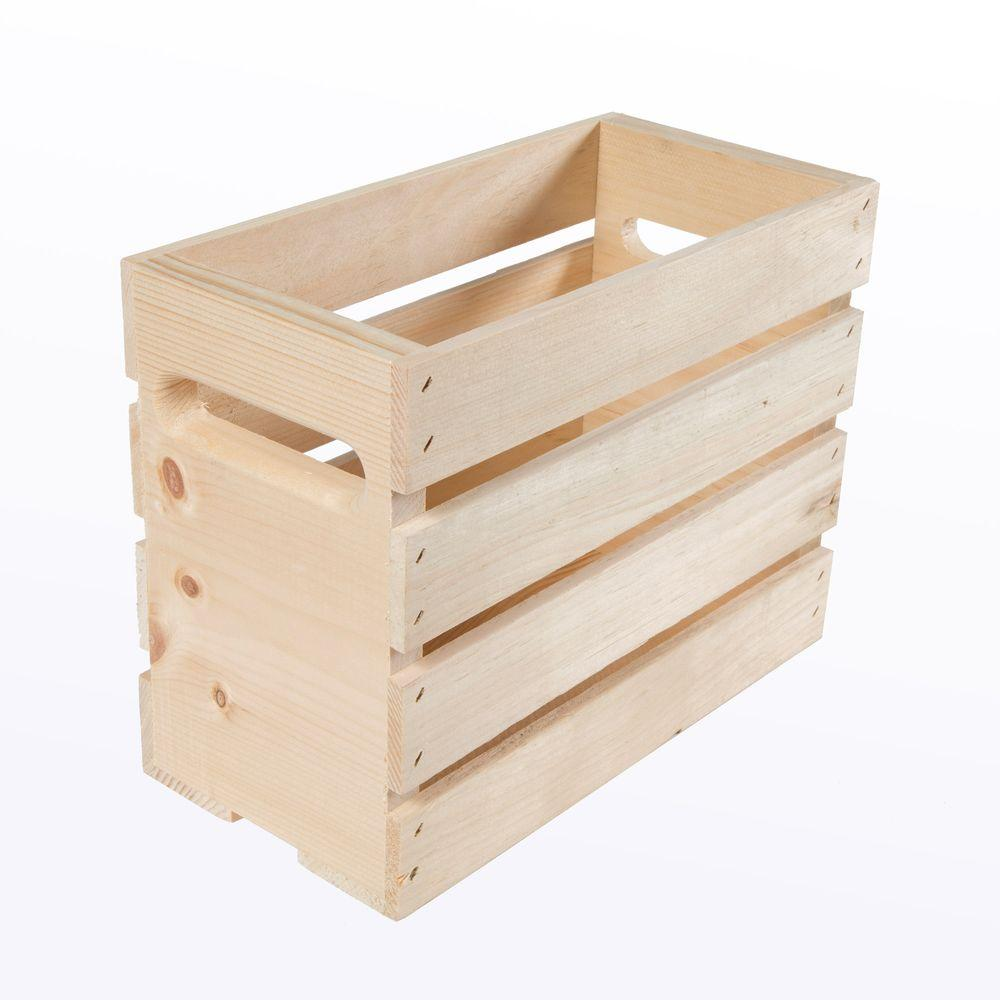 Growler Small Wood Crate (