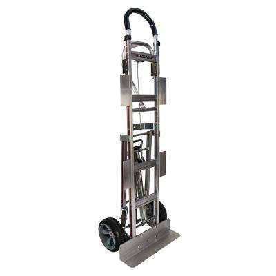 800 lb. Capacity Appliance Hand Truck with Vertical Loop Handle, 4th Wheel Attachment, Break Back Bar and Wings