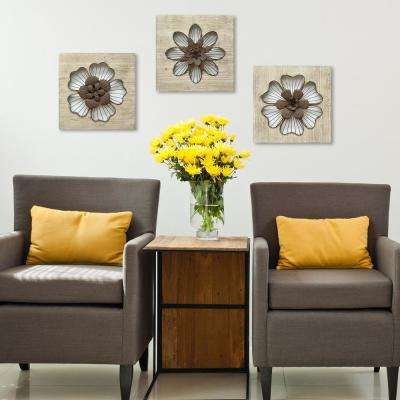 Rustic Flower Wall Decor