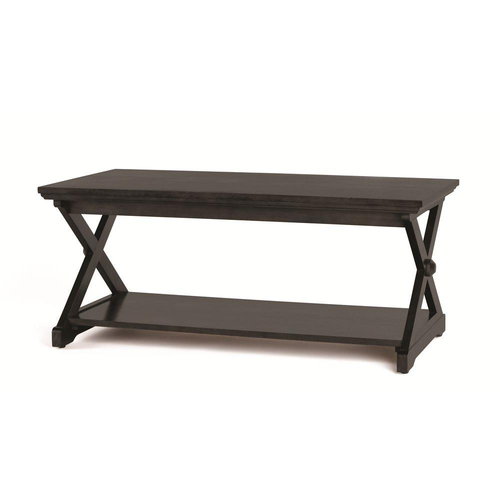 Home Decorators Collection Brexley Black Coffee Table